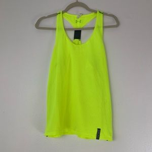 Under Armour Heat Gear Run Reflective Tank Top